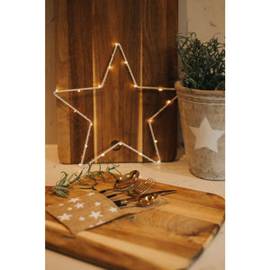 Star Cutlery holders - Pack of 4 - Cutlery