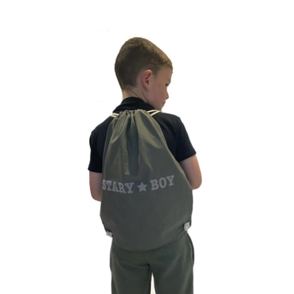 STARY BOY DRAWSTRING BAG - stary kids bag