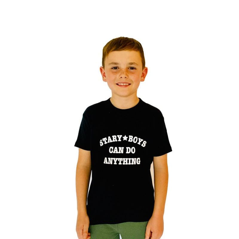 STARY BOYS CAN DO ANYTHING tee - T shirt