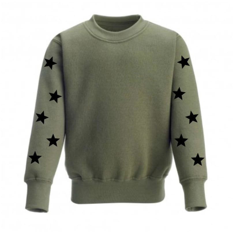 SUPER STAR SWEATER - Kids sweater