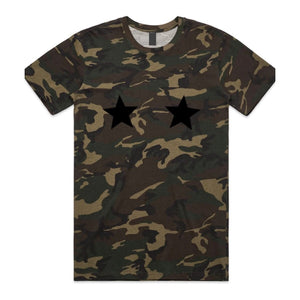 TWO STAR women's camouflage tee - Tee shirt