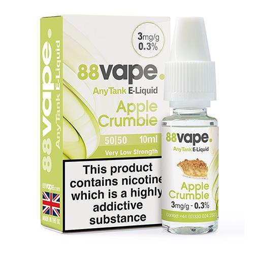 88Vape Apple Crumble
