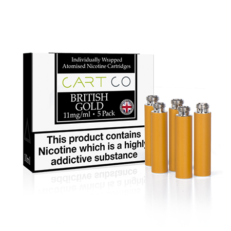Cart Co British Gold Tobacco Cartomizer Refills