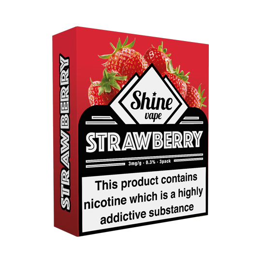 Shine Strawberry (VG) - Exp Feb '20