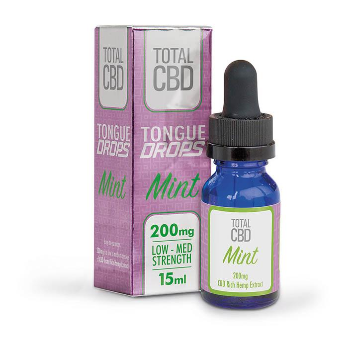 Total CBD Mint CBD Oil Drops