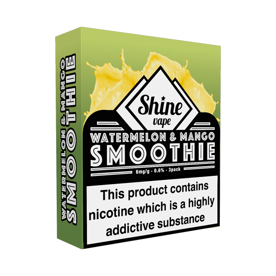 Shine Watermelon & Mango Smoothie (VG) - Exp Feb '20