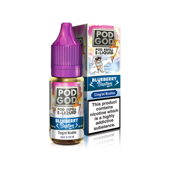 Pod Godz Blueberry Baptism - Exp 31/5/19