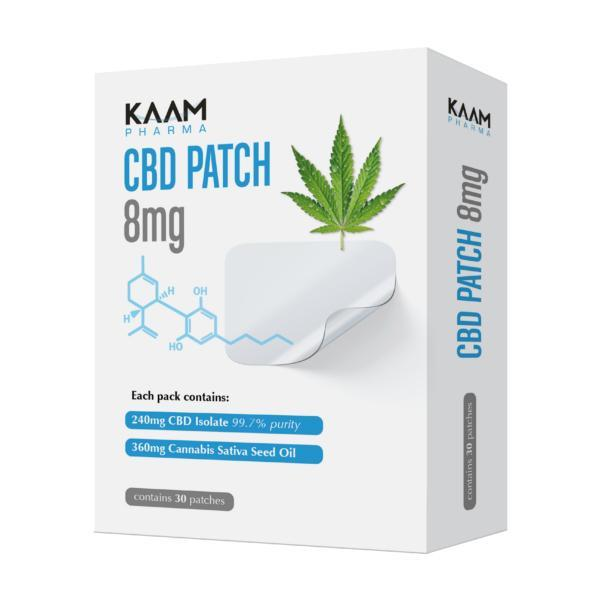 Kaam Pharma CBD Patch 8mg/30pcs