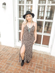 MeWOW Cheetah Maxi Dress