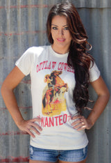 Outlaw Cowgirl Graphic Tee