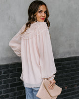 The Flora Ruffle Blouse