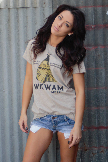 The Wigwam Motel Graphic Tee