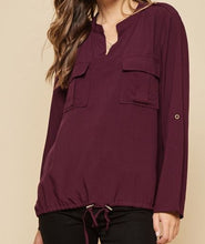 Load image into Gallery viewer, The Cabernet Blouse