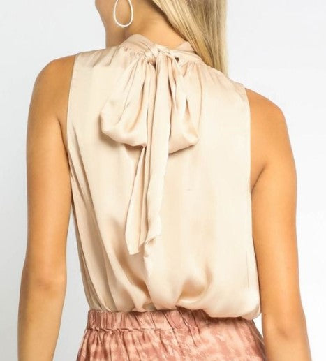 The Champagne Sleeveless Top