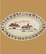 Load image into Gallery viewer, Cowboy Christmas Dinnerware