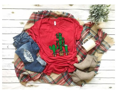 The Christmas Cactus Tee