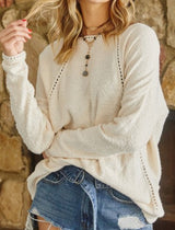 The Gracen Textured Sweater