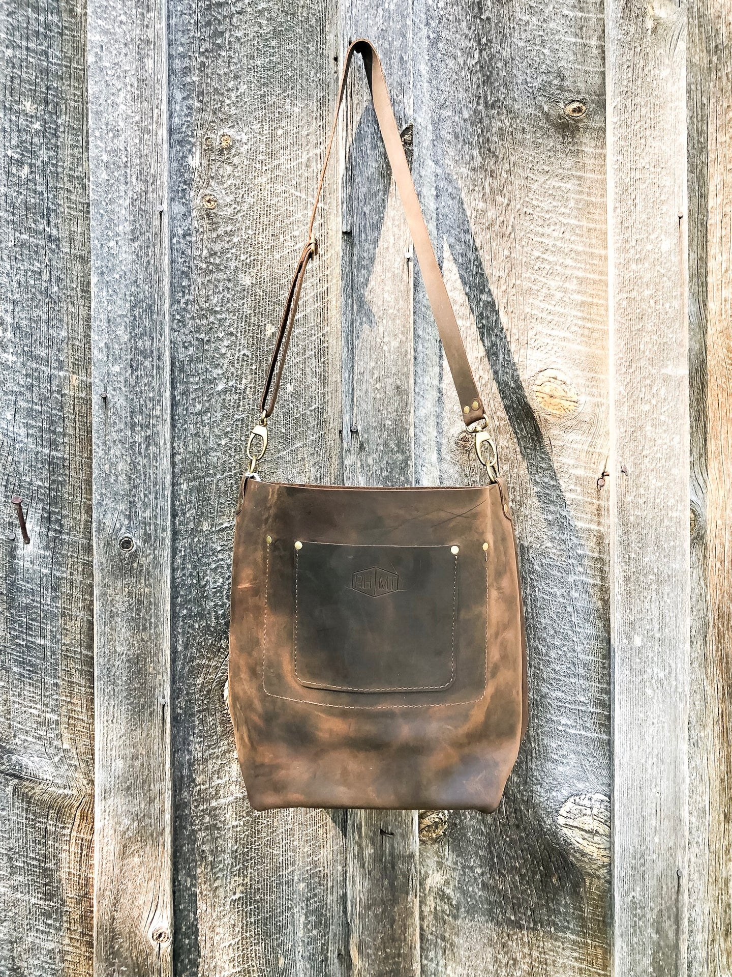 The McFarland Leather Tote Bag