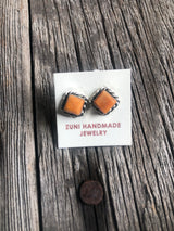 Naranja Spiny Oyster Earrings
