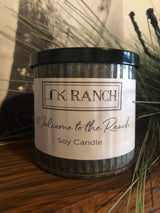 Welcome to the Ranch Crackling Soy Candle