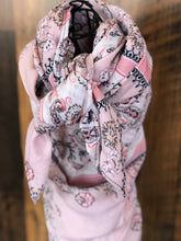 Load image into Gallery viewer, Who Loves Pink Wild Rag Scarf