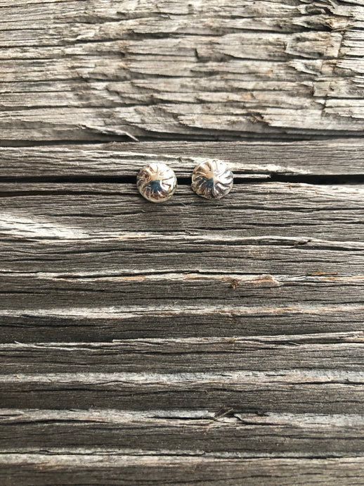 Lila Sterling Silver Stud Earrings