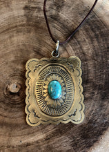 Load image into Gallery viewer, Ronda Turquoise Pendant