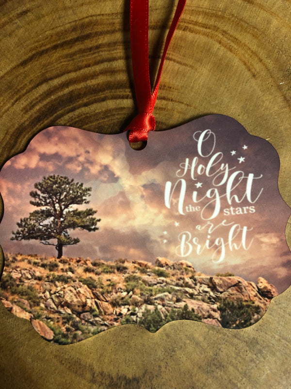 Holy Night Christmas Ornament