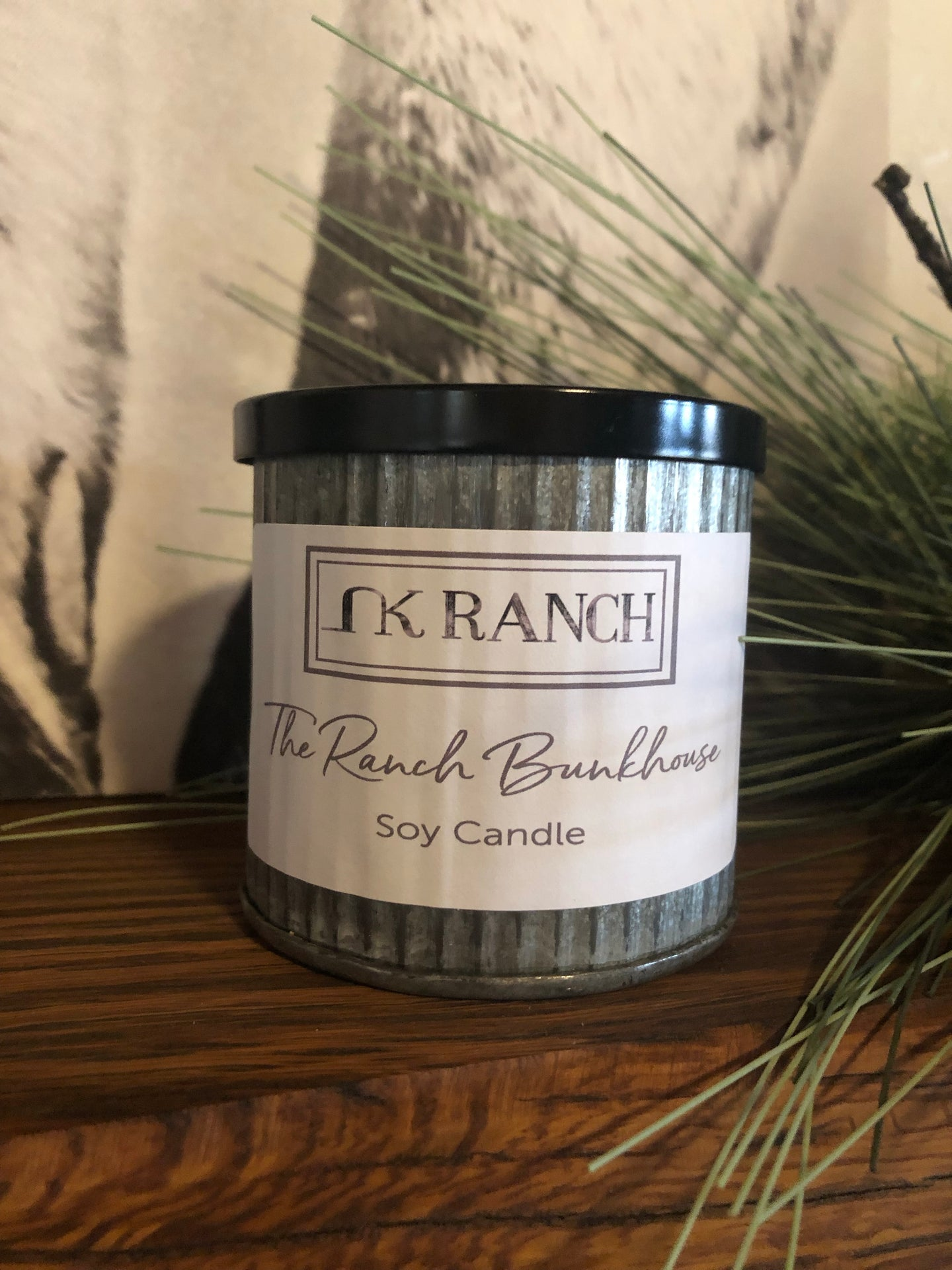 The Ranch Bunkhouse Crackling Soy Candle