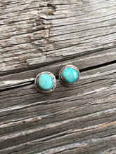 Load image into Gallery viewer, Carson Turquoise Nugget Earrings
