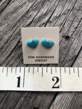Load image into Gallery viewer, Oh My Heart Turquoise Inlay Earrings