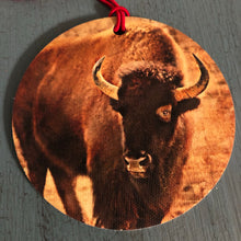Load image into Gallery viewer, Where the Buffalo Roam Christmas Ornament