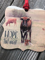 Promise of Hope Western Christmas Ornament