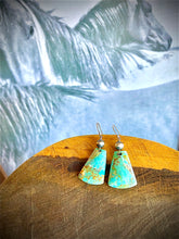 Load image into Gallery viewer, The Shanna Turquoise Slab Earrings