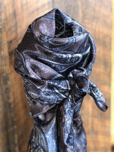 Load image into Gallery viewer, Paisley Blue Wild Rag Scarf