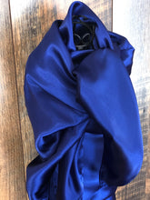 Load image into Gallery viewer, Lush Royal Blue Wild Rag Scarf