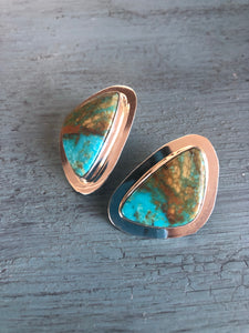 The Bliss Canyon Turquoise Earrings