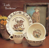 Little Buckaroo Cowboy Dinnerware