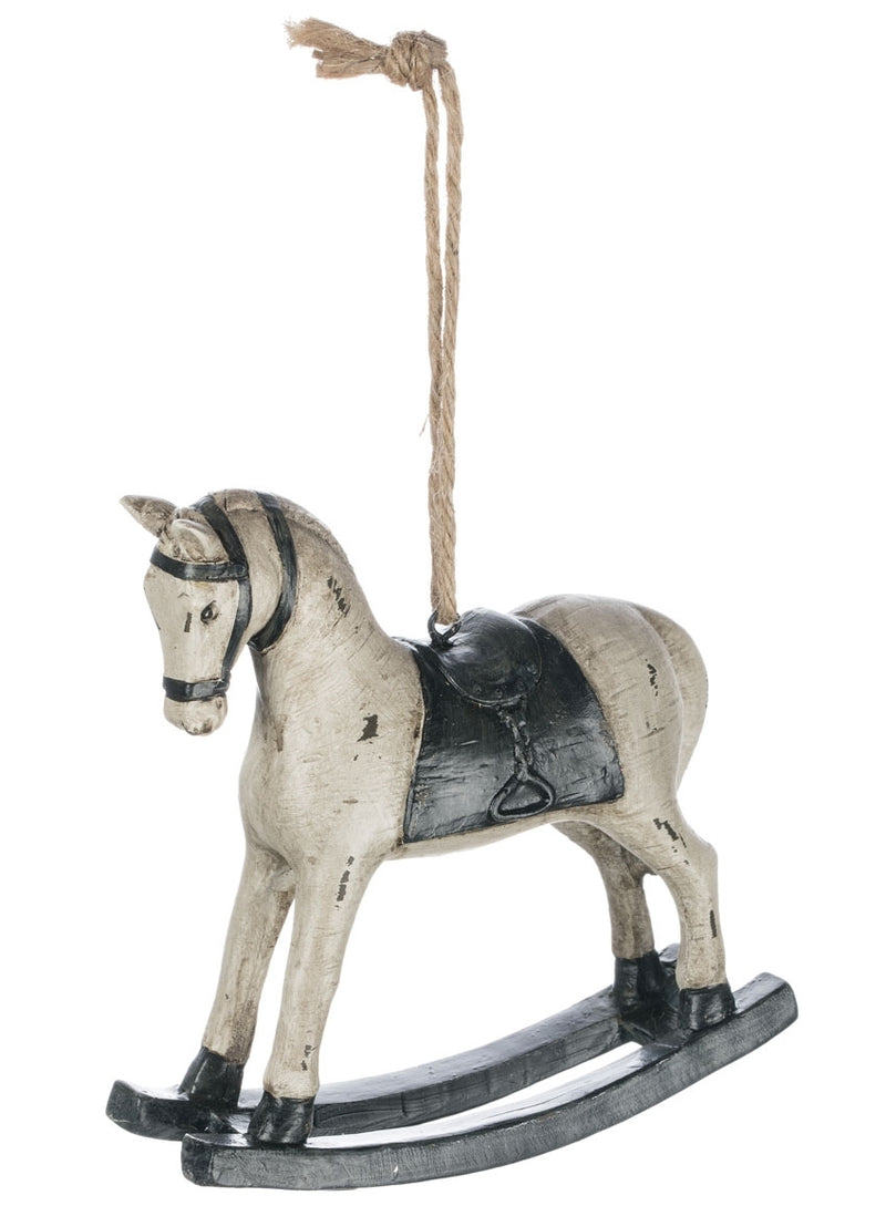 Wooden Rocking Horse Ornament