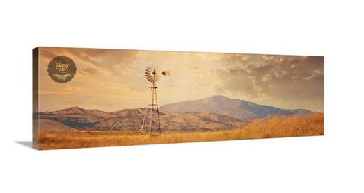 Rustic Range Canvas Wall Art