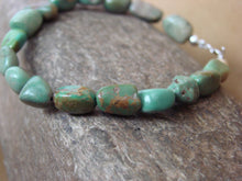 Load image into Gallery viewer, Turquoise Nugget Bracelet