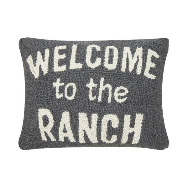 Welcome to the Ranch Western Accent Pillow