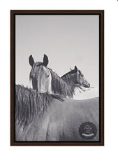 Load image into Gallery viewer, Trio Caballos Framed Horse Canvas