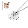 Custom Pet Photo Pendant Necklace