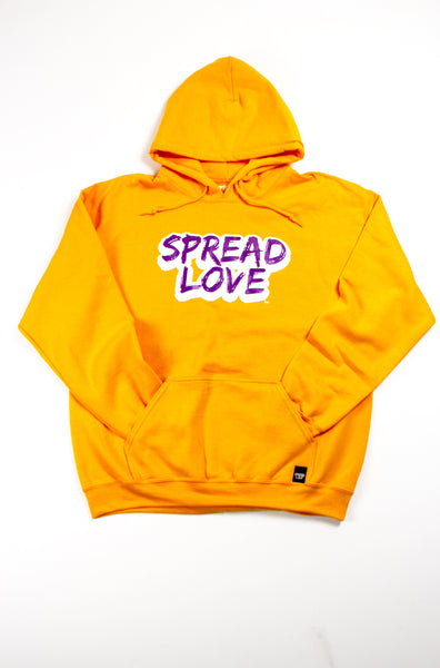 "Special Edition Spread Love ""Lakers Hoodie"""