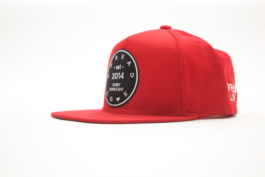 Spread Love Snapback Red