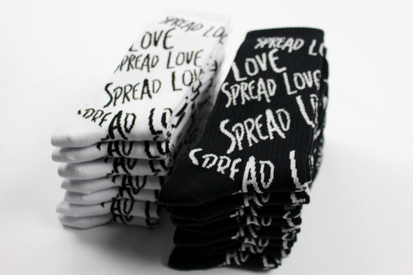 Spread Love Socks (2-Pair Combo)