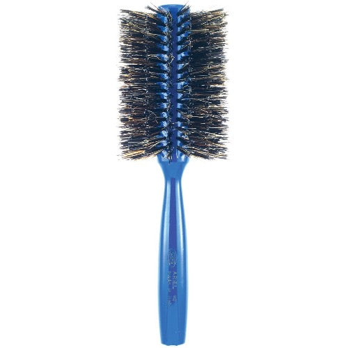 Ariel Blue Round Hair Brush The Salon Project