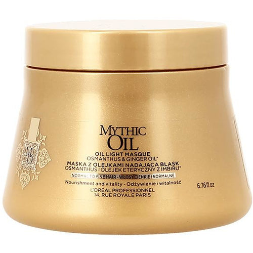 Mythic Oil Light Mask for Fine to Normal Hair The Salon Project