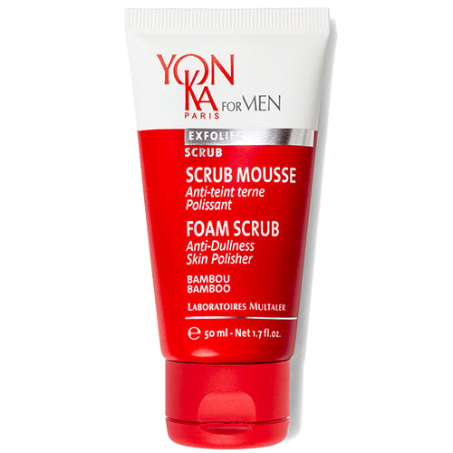SCRUB MOUSSE - Yon-Ka For Men The Salon Project